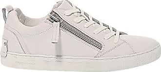 1649adcacc516e Crime London Herren Crime11303 Weiss Leder Sneakers