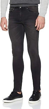Pepe Jeans London Mens FINSBURY PM200338 Slim Skinny Jeans, Black (Denim Wb7), W34/L32