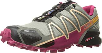 Salomon Tênis Feminino Speedcross 4 CS 392406 Cinza/Pink - Salomon - 38