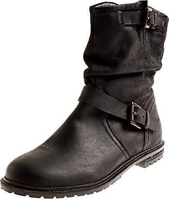 SPM Damen 7063 Lederstiefelette Stiefelette Lederschuhe Leder Boots Kurzstiefel