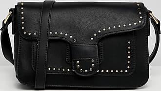 Yoki Fashion YOKI - Borsa da spalla con borchie-Nero