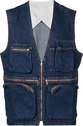 Qasimi denim waistcoat - Blue
