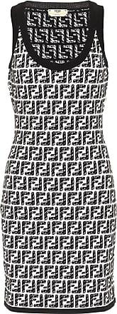 Fendi x Joshua Vides FF knit minidress