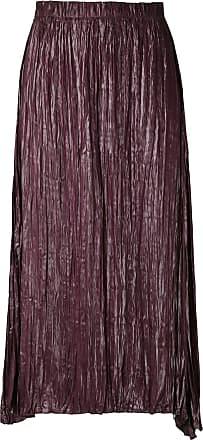 Uma Gonna midi Galena - Di colore viola