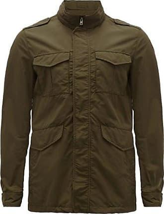 Herno Technical Field Jacket - Mens - Khaki