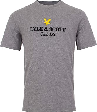 Lyle & Scott Lyle and Scott Mens Club L/S T-Shirt - Cotton - XL