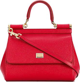 Dolce & Gabbana Bolsa tote Sicily pequena - Vermelho