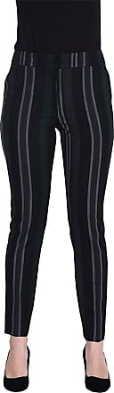 MySocks Regular Tailored Trousers Grey Black Green Stripe