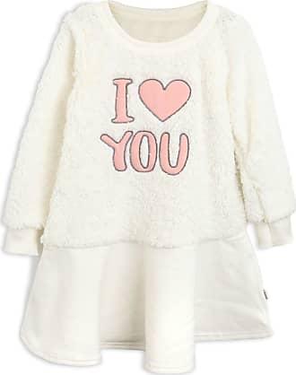 Elian Vestido Elian Infantil Lettering Off-White