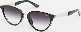 Quay Rumours cat eye sunglasses in black