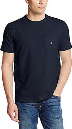 Nautica Men/'S Solid Crew Neck Short Sleeve Pocket T-Shirt Pine Forest X-Large