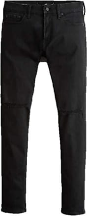 Hollister New Extreme Stretch Skinny Jeans Black Mens W 32 X L 34