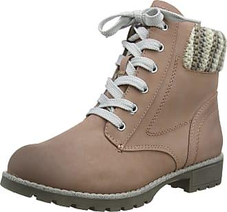 Jana Womens 8-8-26214-21 Combat Boots, Pink (Rose 521), 5 UK
