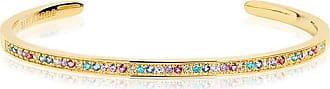 Sif Jakobs Jewellery Bangle Valiano - 18k gold plated with multicoloured zirconia