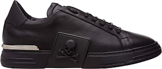 Philipp Plein Men Phantom Kick$ Sneakers Black 9 UK