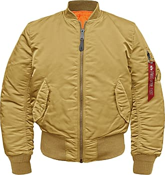 Alpha Industries MA-1 Bomberjacke (Sale) gold, Größe 3XL