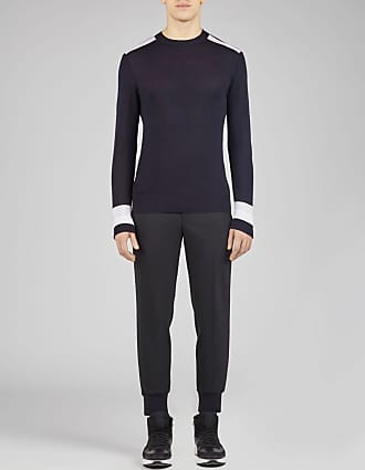 Neil Barrett Travel Colour Band Fine Wool, Silk & Cashmere Jumper