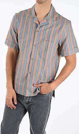 Acne Studios Striped Short Sleeve Shirt Größe 50