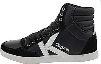 4973494f90855e Kappa Korea ll mid 894826 Leder High Top Sneaker schwarz