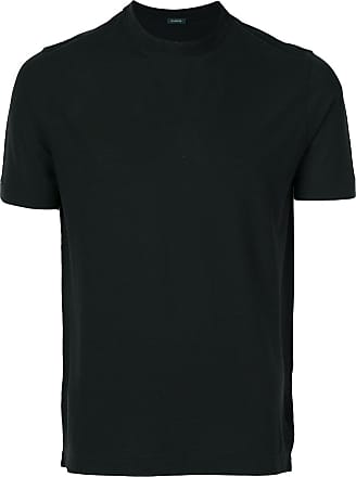 Zanone classic fitted T-shirt - Black