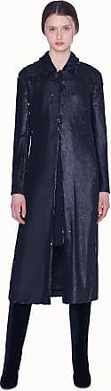 Akris Techno Coat with Sequins