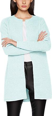 Vila Womens Vinaja New Long Jacket-noos Cardigan, Blue (Blue Haze Blue Haze), 12 (Size: Medium)