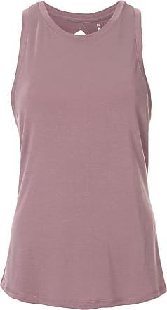 Nimble Activewear double-twist back tank top - Roxo