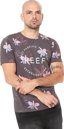 Reef Camiseta Reef Isle Special Cinza