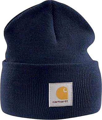 Carhartt Work in Progress Acrylic Watch Cap - Navy Branded Beanie Ski Hat 730afce3e8e0