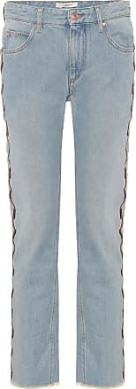 Isabel Marant Colan embroidered jeans