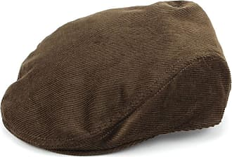 Hawkins Corduroy Flat Cap - Brown (58cm)