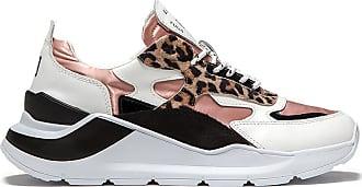 D.A.T.E. fuga satin leopard pink-sand