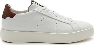 Santoni Sneaker weiß/braun bei BRAUN Hamburg