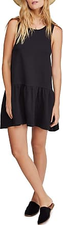 Free People Free People Easy Street Drop-Waist Dress Black XS