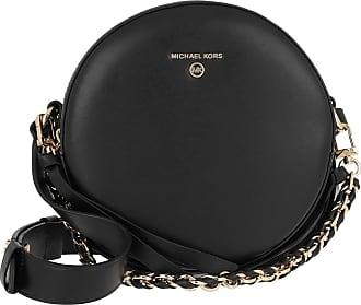 Michael Kors Delancey MD Circle Crossbody Bag Black Umhängetasche schwarz