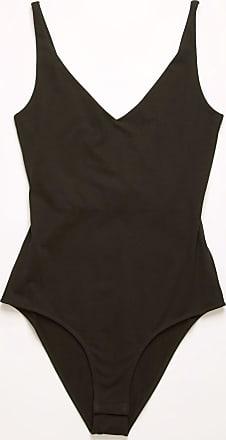 Acne Studios FN-WN-TSHI000222 Black V-neck jersey bodysuit