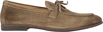 Doucal's Fashion Man DU2589ELBAUZ067OM05 Brown Suede Loafers | Spring Summer 20