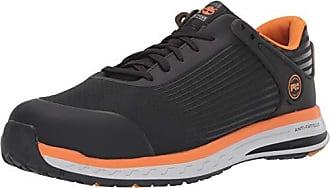 Timberland Mens Drivetrain Composite Toe EH Industrial Boot, Black/Orange, 9.5 M US