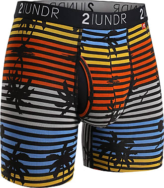2UNDR Mens Swing Shift 6 Boxer Brief Underwear Limited Edition Colors - - Large