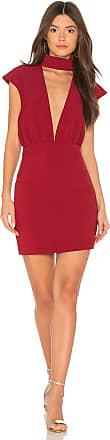 AQ/AQ Dakota Mini Dress in Red