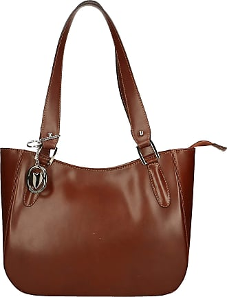 Chicca Borse Leather in Genuine Leather Made in Italy 34x23x10 cm