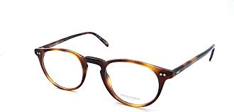 Oliver Peoples 5004 Riley R Eyeglasses 1007 Dark Mahogany / Clear RX Demo Lenses