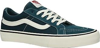 Vans UA Sk8-Low Reissue SF Sneakers atlantic deep / antique wht