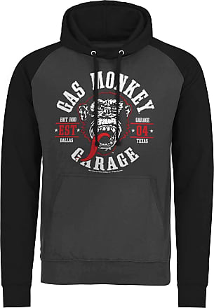 Officially Licensed Gas Monkey Garage Spark Plugs Epic Hoodie S-XXL