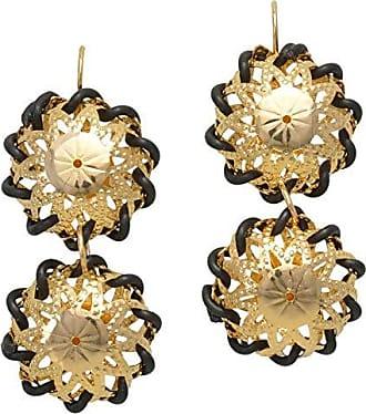 Tinna Jewelry Brinco Dourado Indiano (2 bolas)