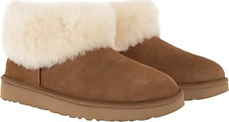 UGG Boots & Booties - W Classic Mini Fluff Chestnut - cognac - Boots & Booties for ladies