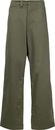 E. Tautz Calça de alfaiataria - Verde
