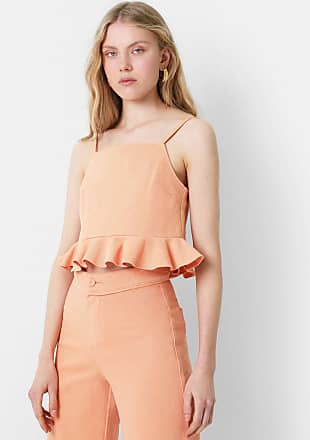 Scalpers Top Eco Cropped Volante