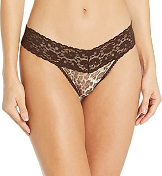 Only Hearts Womens Must Have Printed Low Rise Thong-Multi//White