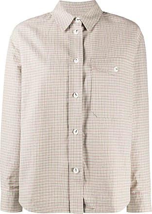 Wood Wood Camisa mangas longas com estampa xadrez - Verde